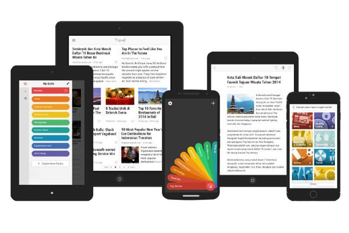 Pengalaman Membaca Berita Semakin Seru dengan Kurio Versi Tablet