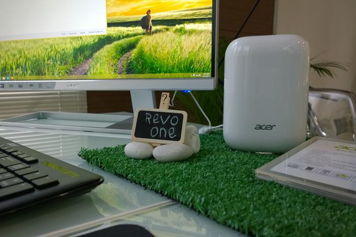 Acer Revo One, mini PC dengan desain minimalis yang stylish