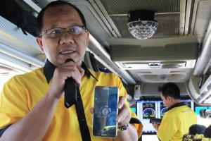 Drive test Indosat 3