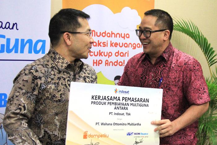 Kerja Sama Indosat Dompetku dengan WOM Finance permudah Mendapatkan Pembiayaan Multiguna