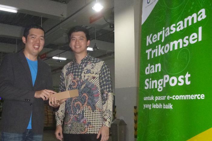 Memanfaatkan peluang bisnis ecommerce Trikomsel & SingPost bikin perusahaan patungan