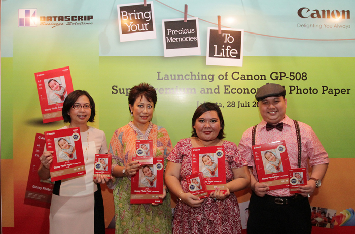 Simpan Memori Mu, Hemat Uang Mu dengan Canon Glossy Photo Paper