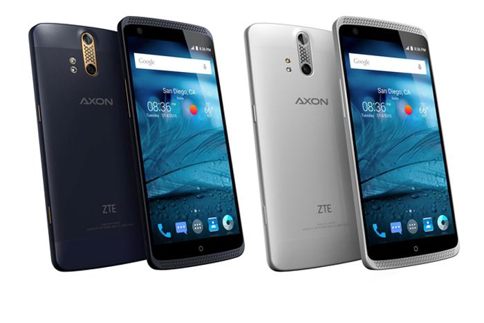 ZTE Axon smartphone memiliki dual kamera belakang dan HiFi sound