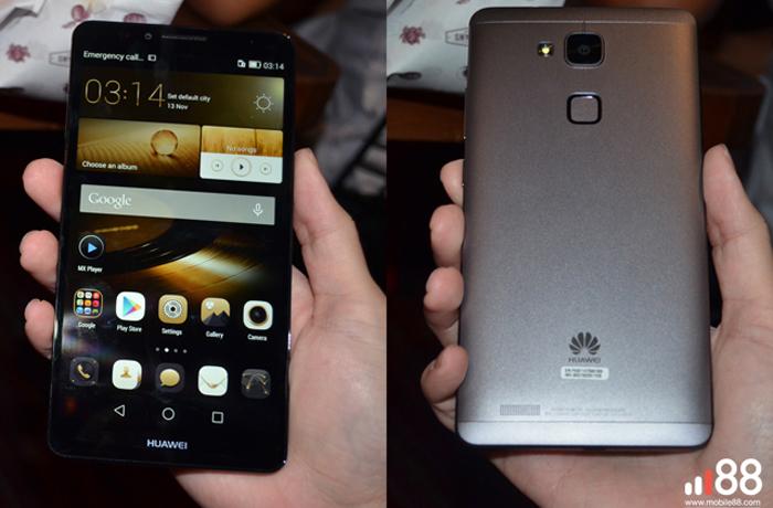 Huawei Ascend Mate 7 Tampil Premium Fiturnya Kampiun