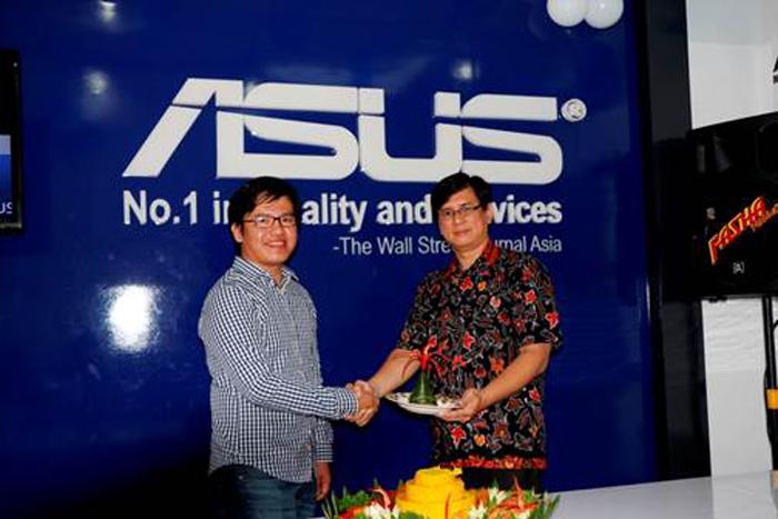 ASUS Buka Service Center baru di Sang Bumi Ruwa Jurai Bandar Lampung