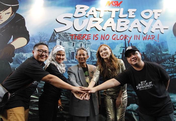 Telkomsel mendukung film Battle of Surabaya yang merupakan kreasi anak bangsa