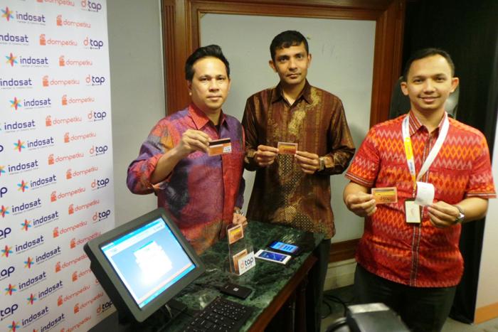 """""""D-Tap"""" Layanan Pembayaran Berteknologi NFC dari INDOSAT"""