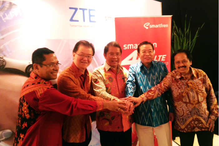 Photo of Smartfren  4G LTE-Advanced Pertama dan Terluas  di Indonesia