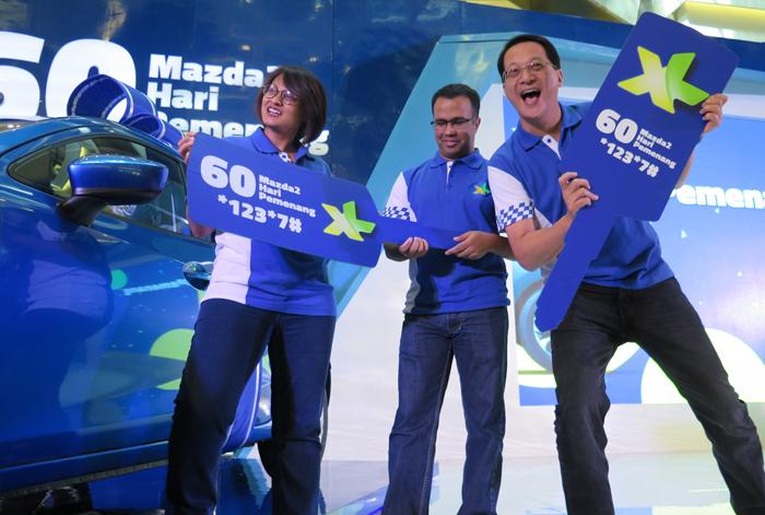 XL berikan apresiasi Pelanggan Loyal berupa Isi Ulang Pulsa Berhadiah Mazda 2