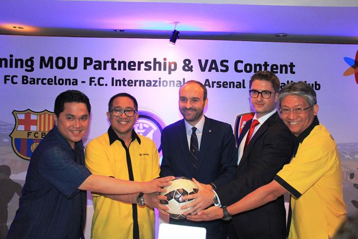 Indosat Hadirkan Layanan VAS Content bagi Pecinta Bola Tanah Air