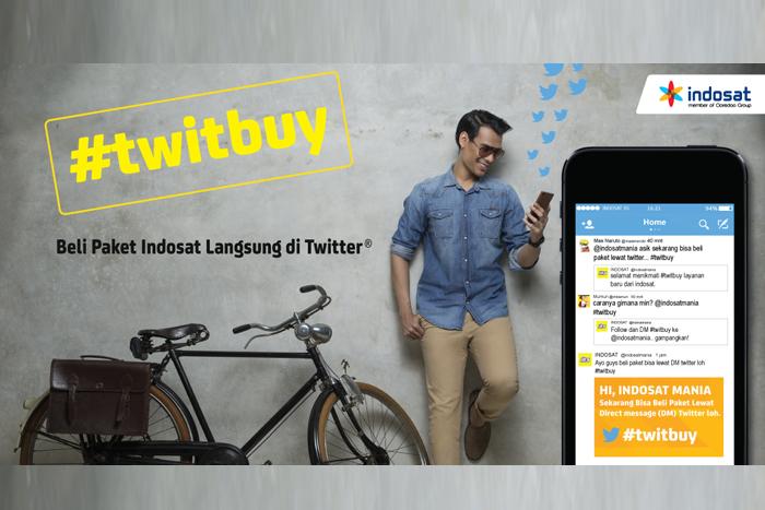 Indosat dan Twitter Luncurkan Indosat #TwitBuy Pertama di Asia Pasifik