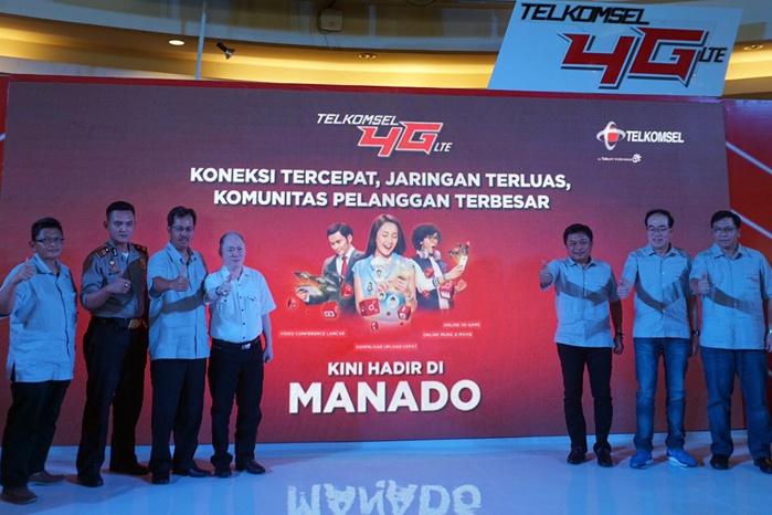 Telkomsel Hadirkan Layanan  4G LTE di Manado