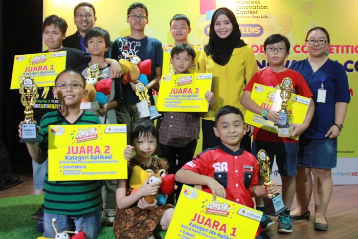 Indosat Kembali Gelar kompetisi pembuatan aplikasi bagi anak-anak dan remaja