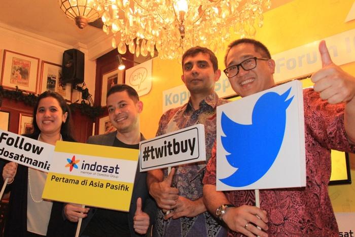 Lewat Indosat #TwitBuyBisa beli Paket Indosat Pake Twitter