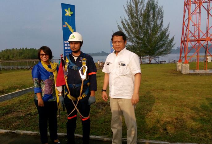 Menkominfo Resmikan Infrastruktur XL di Pulau Simeulue