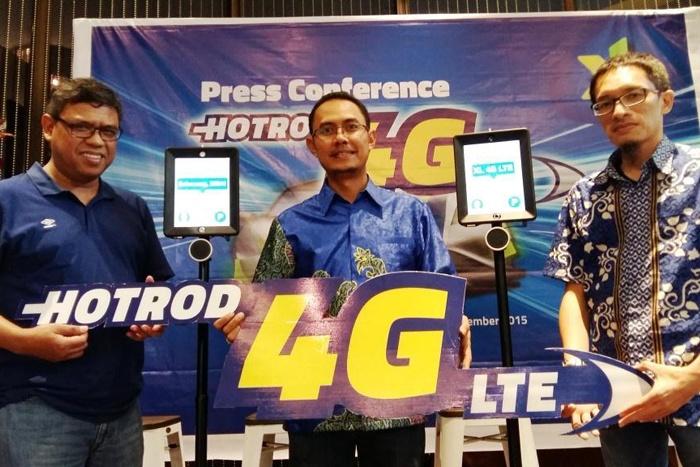 Layanan 4G LTE XL Hadir Komersial di Bandung