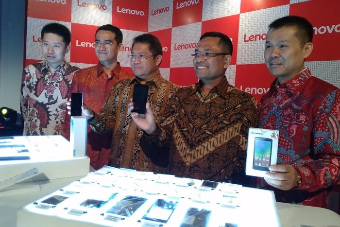 Lenovo Mengumumkan pabrikasi lokal Smartphone di Serang, Banten