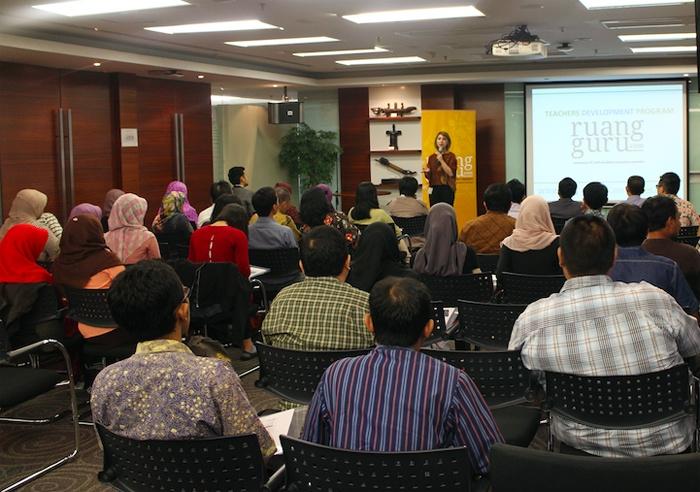 Gandeng Microsoft Indonesia, Ruangguru.com beri pelatihan bagi para guru privat melalui Teachers Development Program