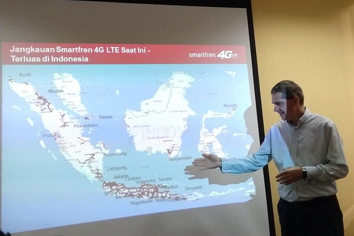 Uji Jaringan 4G LTE Advanced Smartfren di Jakarta dan Bogor