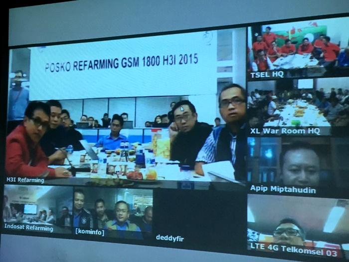 Tri (PT Hutchison 3 Indonesia) Sukses Lakukan Penataan Ulang Lebih dari 20.000 BTS di Spektrum 1800 Mhz