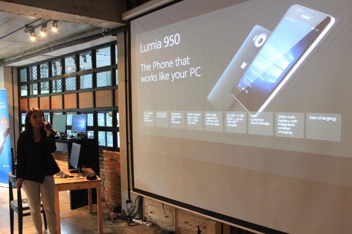 Lumia 950 mampu meningkatkan produktivitas dengan kehadiran Windows 10