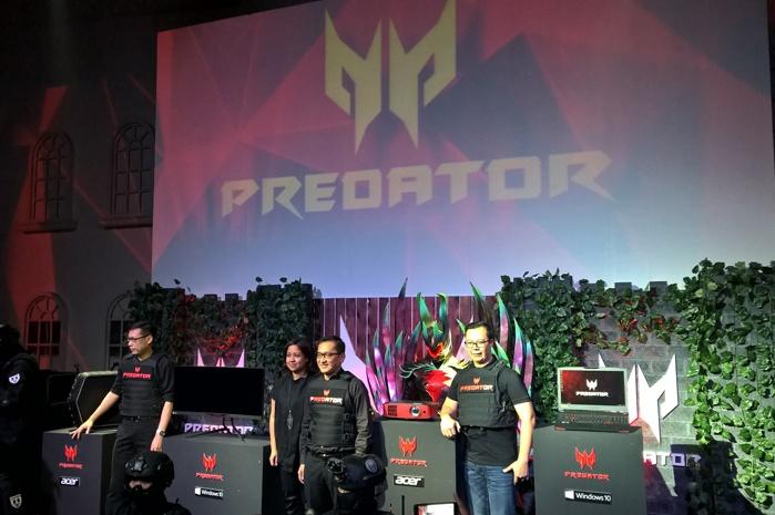 Acer Luncurkan Seri Produk Gaming Predator series