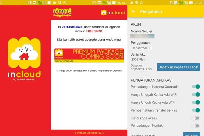 iCloud Indosat Ooredoo