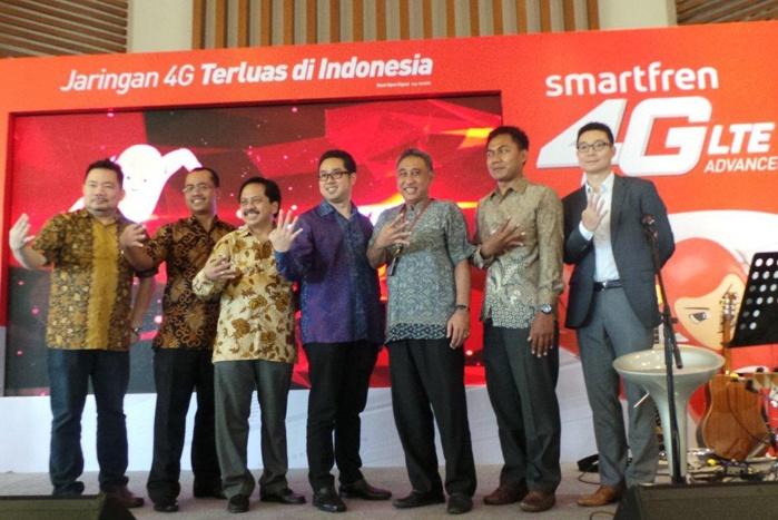 Smartfren 4G LTE Advanced Terluas di Indonesia, Hadir di 85 kota