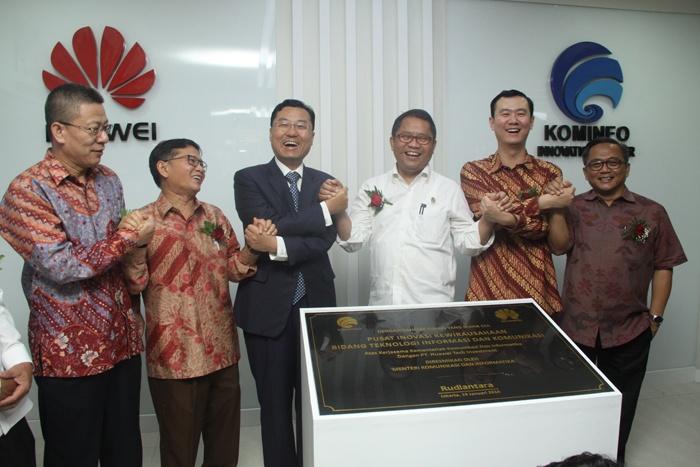 Pusat inovasi Kominfo – Huawei, Siap Cetak Technopreneurs Muda