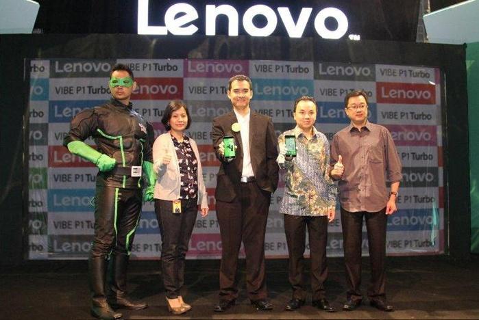Lenovo VIBE P1 Turbo dengan Baterai 5000mAh dan Sensor Sidik Jari