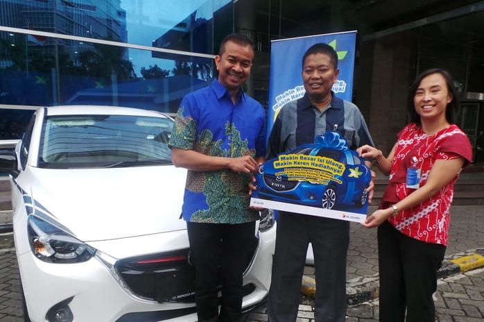 Photo of XL Serahkan Hadiah Utama Mobil Mazda di Program POINSIUL