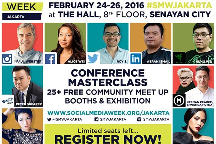 Photo of Social Media Week (SMW) kembali hadir di Jakarta