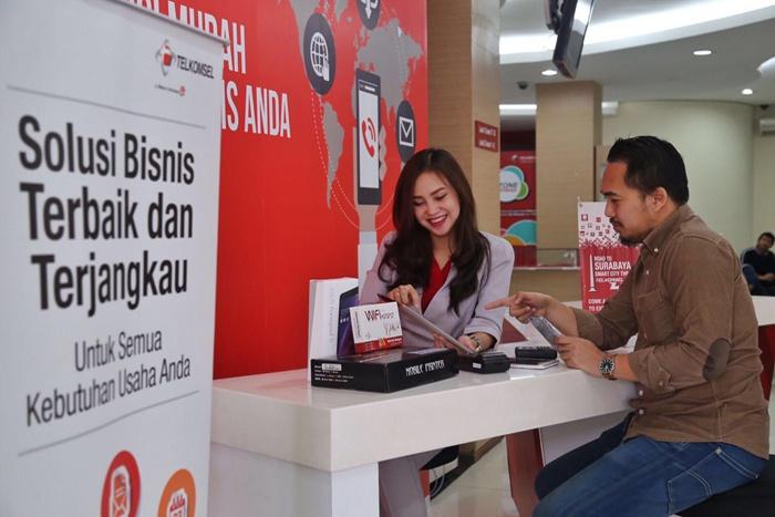 Photo of Telkomsel SME Corner Hadir di GraPARI Untuk Segmen UKM