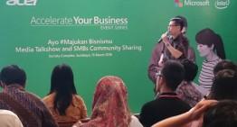 Acer Bersama Microsoft Mendorong Optimalkan TI UMKM Jawa Timur