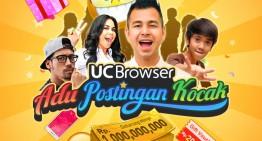UC Browser Mengadakan Kontes Adu Postingan Kocak dengan hadiah total Rp.1 Miliar