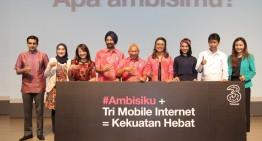 Aksi Nyata Tri di Ulang tahun ke 9 meluncurkan Ambisi Generasi Muda Indonesia