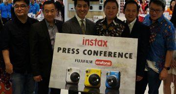 ERAFONE Pasarkan Produk Fujifilm Instax melalui Jaringan Retail nya