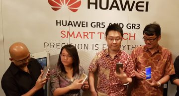 Huawei GR3 dan GR5 Smartphone diposisikan sebagai  The King of Fingerprint
