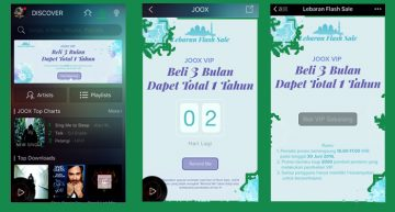 Hadiah Lebaran dari JOOX, Gratis Paket VIP Setahun