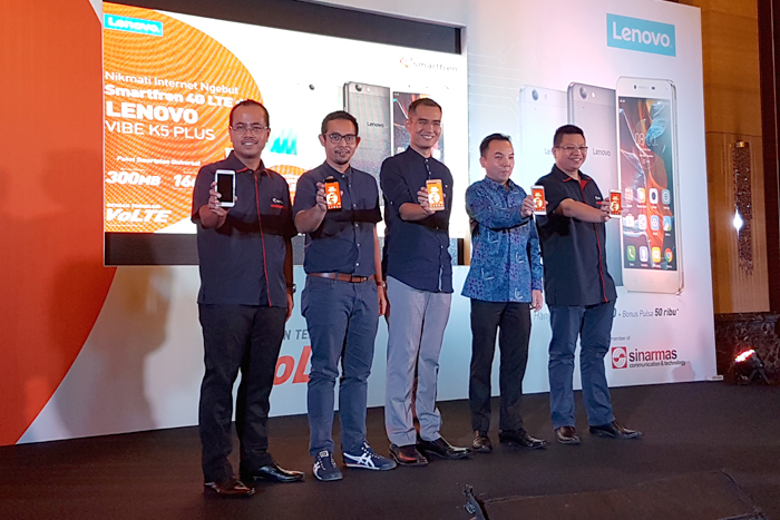 Photo of Smartfren meluncurkan paket bundling Lenovo VIBE K5 Plus