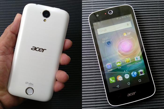 Acer Liquid Z330 foto simcard 2 ok