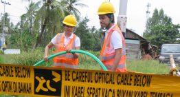XL Bangun Ratusan Kilometer FO di Kalimantan