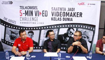 Kompetisi Telkomsel 5-Min Video Challenge' Mulai Bergulir