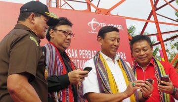 Telkomsel hadir di Kalabahi, Kabupaten Alor, Nusa Tenggara Timur