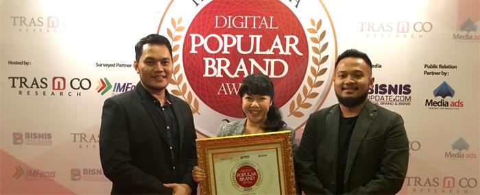 Photo of Acer Raih Penghargaan Indonesia Digital Popular Brand Award 2016,