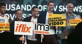Kebebasan Video Streaming dari IM3 Ooredoo  untuk menikmati IFLIX