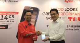 Bundling Samsung Galaxy J5 Prime & Galaxy J7 Prime, Telkomsel Sediakan Kuota Data 14 GB