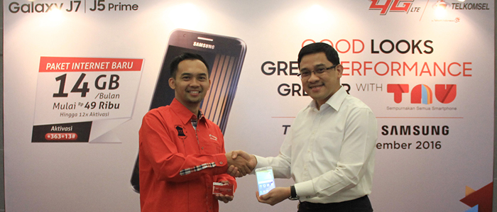 Photo of Bundling Samsung Galaxy J5 Prime & Galaxy J7 Prime, Telkomsel Sediakan Kuota Data 14 GB