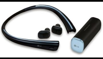 LG TONE Free (HBS-F110): Headset Nirkabel dengan Charger Unik