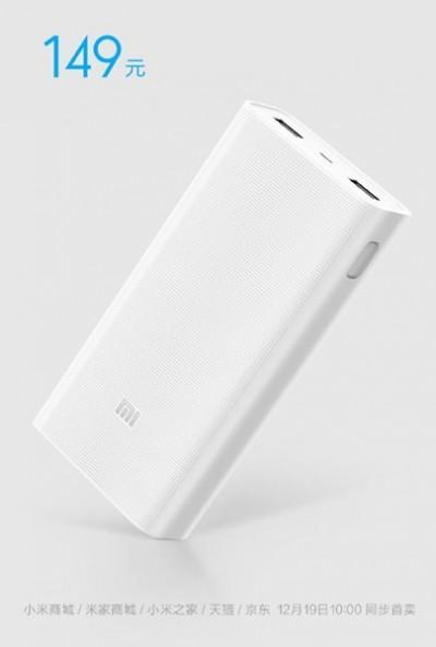 Aksesoris Xiaomi Powerbank 20.000 mAh